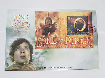 Isle of Man 2003 Lord of the Rings miniature sheet, MS1124