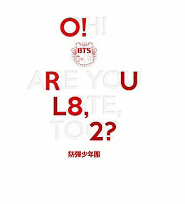 O!RUL8,2? [EP] by BTS (Bangtan Boys) (CD, Sep-2013) Korea pop CD