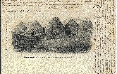 (S-6255) FRANCE - 04 - FORCALQUIER CPA      CREST A.  ed.