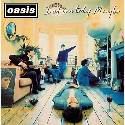 Oasis Definitely Maybe Album Cover Greeting Birthday Any Occasion Card Official