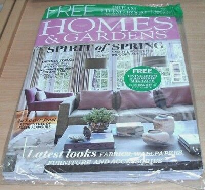 Homes & Gardens magazine APR 2018 Creative Flooring, Dining Chairs, Easter Feast