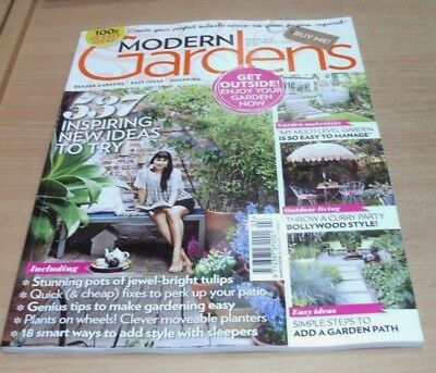 Modern Gardens magazine MAR 2018 Patio Quick Fixes, Moveable Planters, Sleepers
