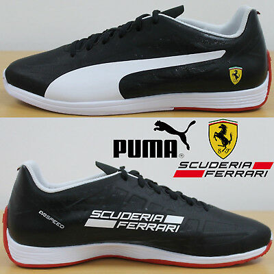 49718c360e64 PUMA Men s Ferrari Trainers Gents Motor Racing Shoes evoSpeed Motorsports  Boots