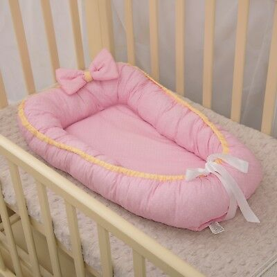 Baby Nest Bed Crib Sleeper Cot Snuggle Toddler Cocoon Newborn Gift Bedding