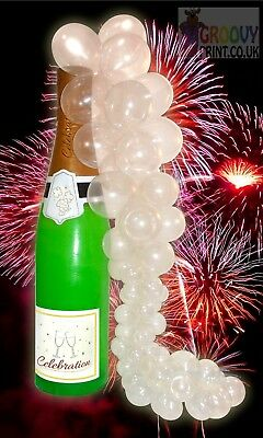 2x Giant 180cm Novelty Wedding Champagne Bottle Inflatable Party Decoration UK
