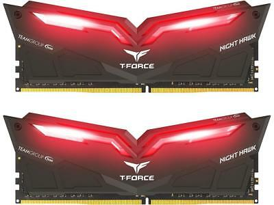 Team T-Force Night Hawk 16GB (2x8GB) DDR4 3000MHz Memory THRD416G3000HC16CDC01