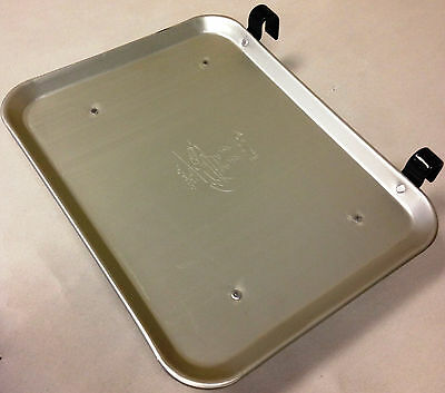 12 count Vintage Style Aluminum Car Hop Tray - Smaller Size