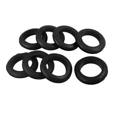 Wire Protection Rubber 35mm Inner Dia Double Sided Grommet 8 Pieces K9D5