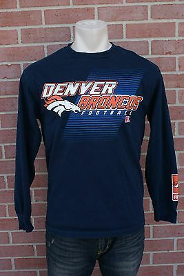 925485b12 NFL TEAM DENVER Broncos Football Men s Long Sleeve T-Shirt Size M ...
