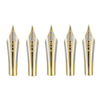 5Pcs Replacement Fountain Pen Nibs 0.5mm Writing Nib Iridium Tip For Jinhao X450