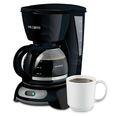 Mr. Coffee Simple Brew 4-Cup Switch Coffee Maker TF