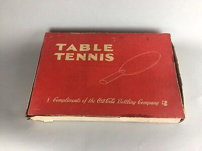 Vintage Coca Cola Table Tennis Game Model 4759CC made by Milton Bradley