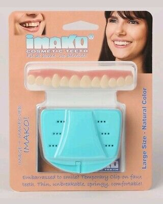 BNIB IMAKO Cosmetic Teeth Cover.  Ultra Thin. Perfect Smile .