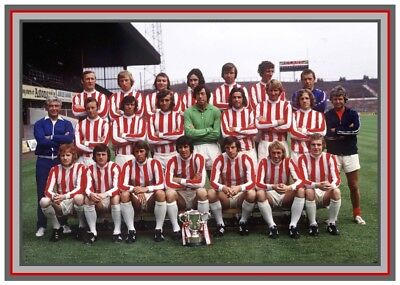 Collectors/Photograph/Print/Stoke City/Team/Squad/Photo/1972 League Cup Winners