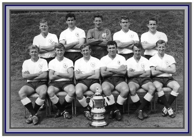 Collectors/Photograph/Print/Tottenham/Spurs/Team/FA CUP/Winners/1962/Team Photo