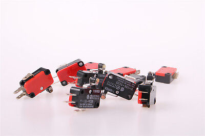 10pcs V-155-1C25 Momentary Limit Micro Switch SPDT Snap Action Switch UK