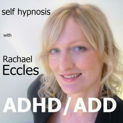 ADHD ADD Attention Deficit (Hyperactivity) Disorder, Hypnosis, Hypnotherapy CD