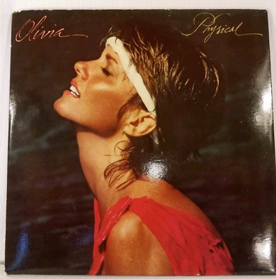 Olivia Newton John Physical 1981 LP Vinyl Complete Album with Poster