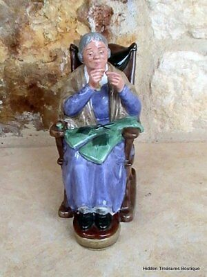 Royal Doulton A Stitch In Time HN2352 Figurine England