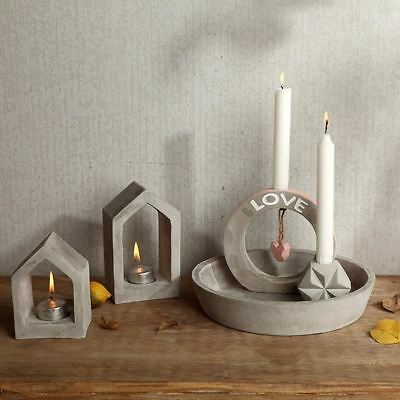 CONCRETE CANDLE HOLDER molds silicone candlestick molds