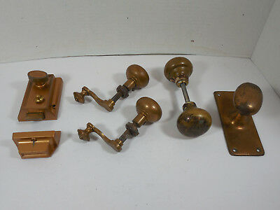 Vintage Antique Mixed Lot Door Knobs Handles Retro Decor Architectural Hardware