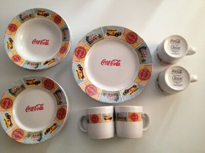 15 Piece Coca Cola Limited Edition China The Good Ol' Days Everyday Gibson