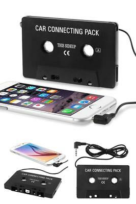 Cassette Deck Player Car Audio Tape 3.5Mm Adapter Compatible W/ Ipod Sony Mp3 Cd