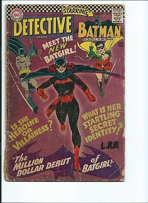 DETECTIVE COMICS 359 - FrG 1.5 - 1ST APPEARANCE OF BATGIRL - BATMAN (1967)