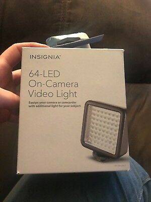 64-LED On-Camera Video Light