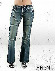 HORNEE WOMANS MOTORCYCLE JEANS  REINFORCED WITH DuPont™ KEVLAR® - BABY CAMO