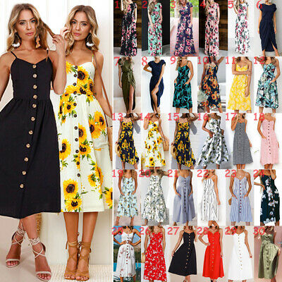 15 Choices UK Womens Loose Waist Elastic Maxi Cosy Brand New Floral Long Dress