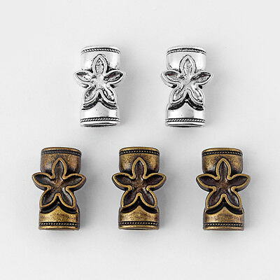 3Sets Antique Silver/Bronze 10.5x7mm Magnetic Clasp For Licorice Leather Cords