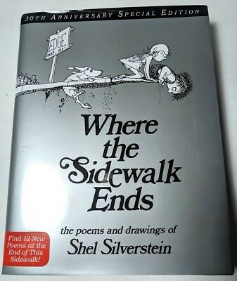 The giving tree 991 picclick where the sidewalk ends 30th anniversary special edition book shel silverstein fandeluxe Choice Image