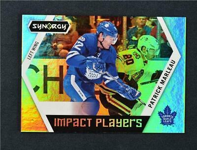 2017-18 17-18 UD Upper Deck Synergy Impact Players #IP-4 Patrick Marleau