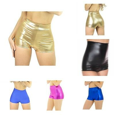 Rave Wear High Waist Shorts In S M L & Xl -Made In Usa! Various Colors