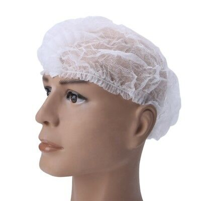 Disposable Anti Dust Proof Hair Covering Hat Non-woven One-off Shower Hat Cap