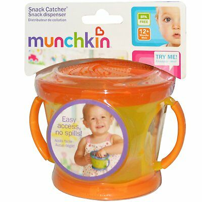 Munchkin Snack Catcher, 9 oz in Blue, Green or Orange