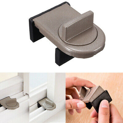 Kids Child Baby Secure Sliding Window Door Stop Baby Safety Sash Protector//
