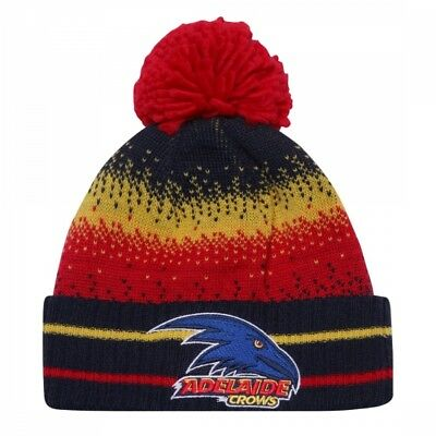 Adelaide Crows Official AFL Youth Supporter Beanie