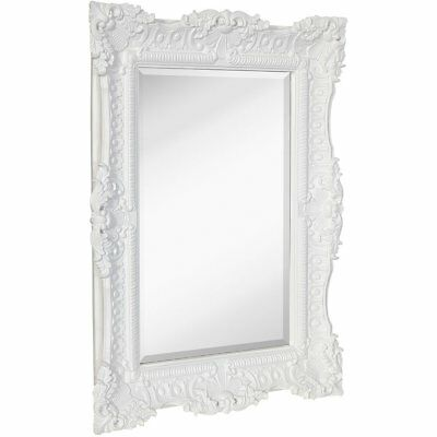 LARGE ORNATE GOLD Baroque Frame Mirror | Aged Luxury | Elegant ...