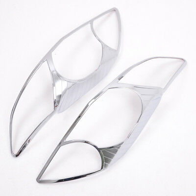 For Toyota Corolla 2008-2010 Chrome Car Front Head Light Lamp Cover Trim Covers