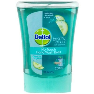 Dettol No Touch Cucumber Splash Hand Wash Refill 250Ml Daily Use