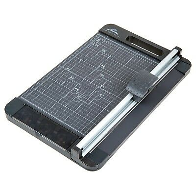 8 Sheet Paper Cutter 3-Way Trimmer 12.6 Inch (A4 size) Rotary Trimmer Cutter