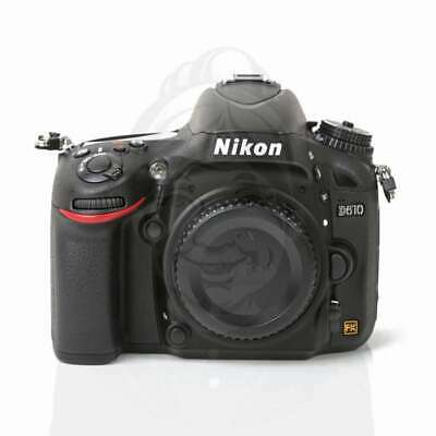 Autentico Nikon D610 Digital SLR Camera Body Only Black