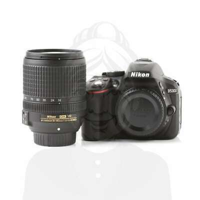 Autentico Nikon D5300 Digital SLR Camera Black + AF-S 18-140mm f/3.5-5.6G VR