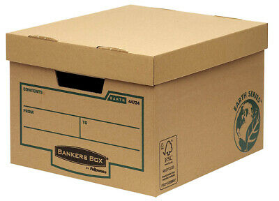 10 Fellowes Archivboxen Bankers Box® Earth Series Budget Box