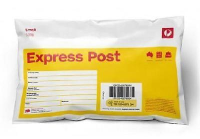10x 500g Express Post Yellow Prepaid Auspost Satchel Australia Post