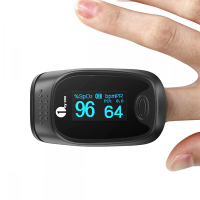 Fingertip Pulse Oximeter Portable Instant Read Digital with OLED Display Screen