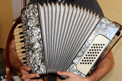 Accordion Weltmeister made in Germany Vintage