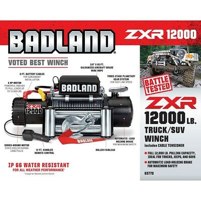 Badland winch 12000 lb off road vehicle winch wauto load holding badland winch 12000 lb off road vehicle winch wauto load holding brake no sciox Images